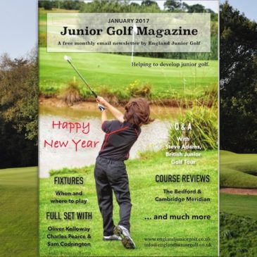 Happy New Year… this is Junior Golf Magazine