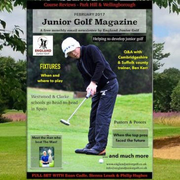 England Junior Golf Newsletter February 2017