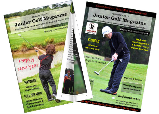 England Junior Golf Newletter