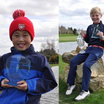 Success for Elliot and Jadon in Northants Par 3 Champs