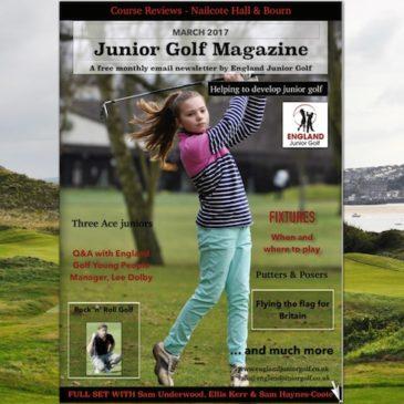 England Junior Golf Newsletter March Edition