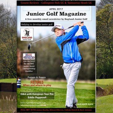 England Junior Golf Newsletter April 2017