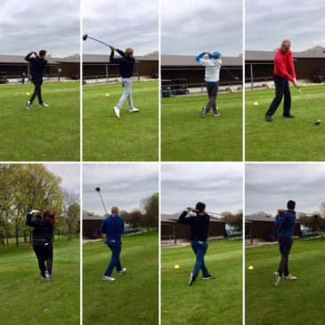 Lee Westwood Golf School take on the Cheshire Police