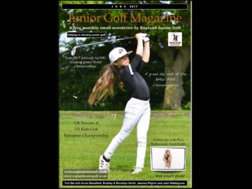 England Junior Golf Newsletter June 2017