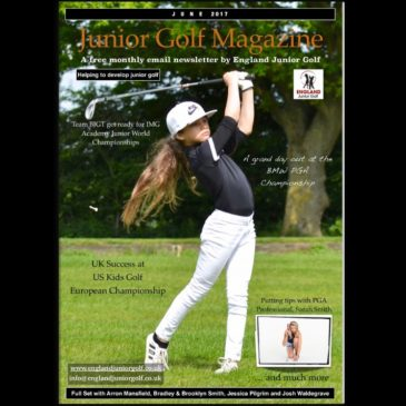 England Junior Golf Newsletter June 2017